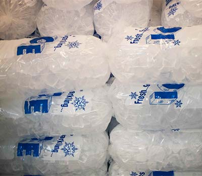 Ice available at Oxnard convenience store.